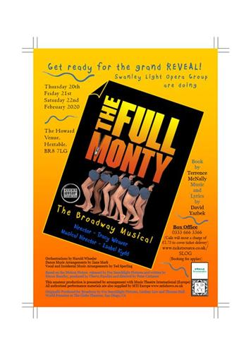 - DON'T MISS OUT! LAST FEW TICKETS REMAINING FOR THIS WEEK'S SHOWING OF 'THE FULL MONTY'